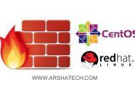 آموزش کامل کار با فایروال firewalld در CentOS 7